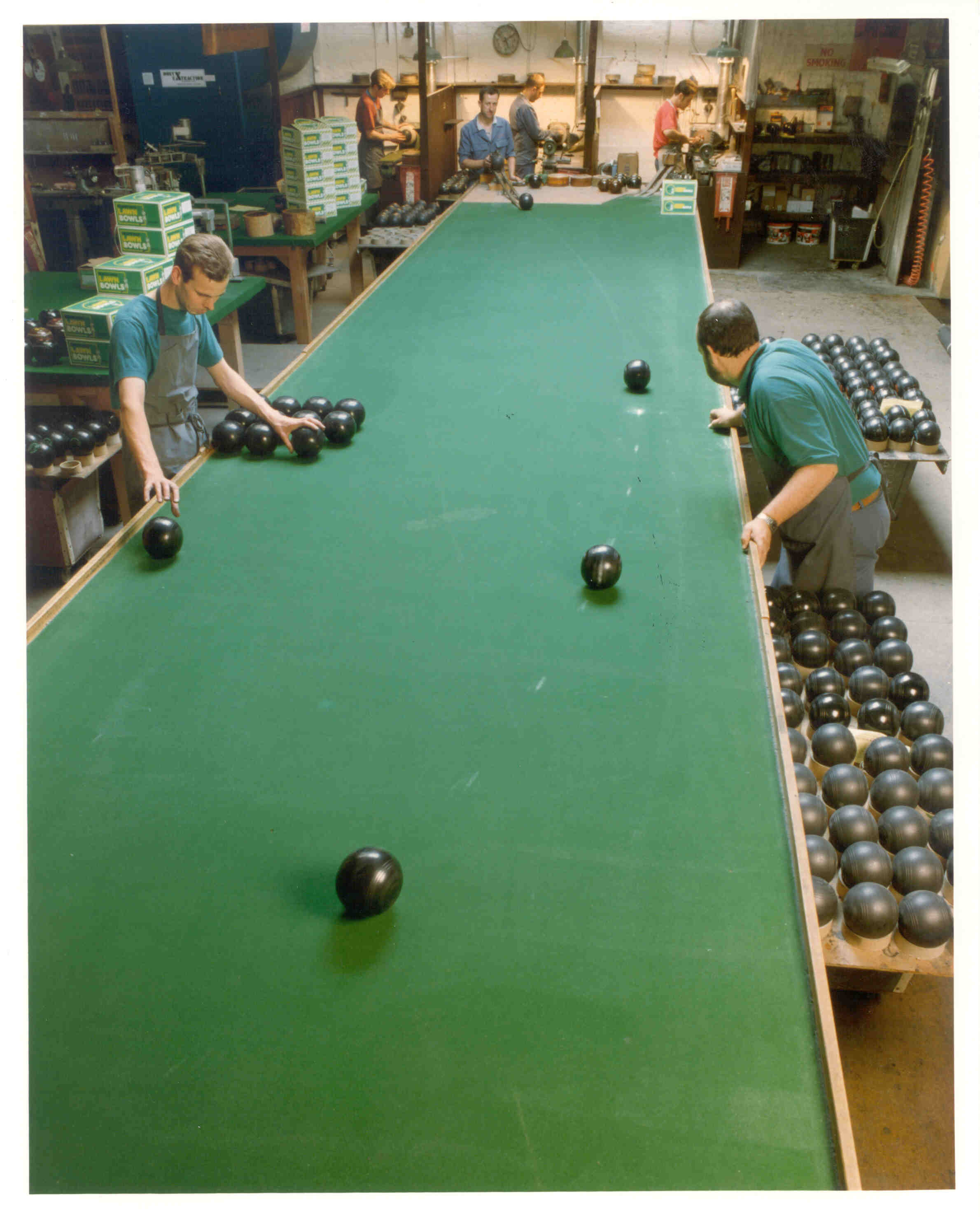 Liverpool bowls test table