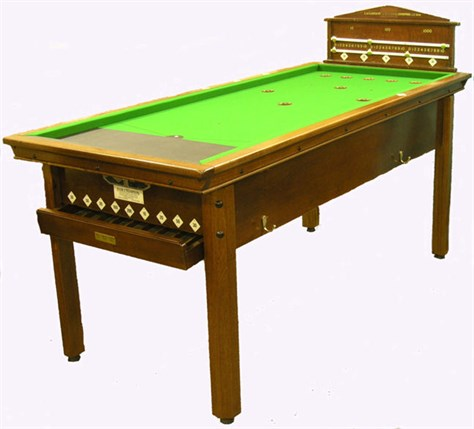 Bar Billiard table by E. A . Clare & Son
