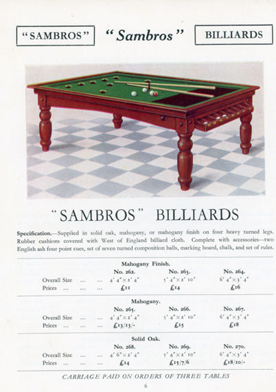 1935 Sams Bros catalogue