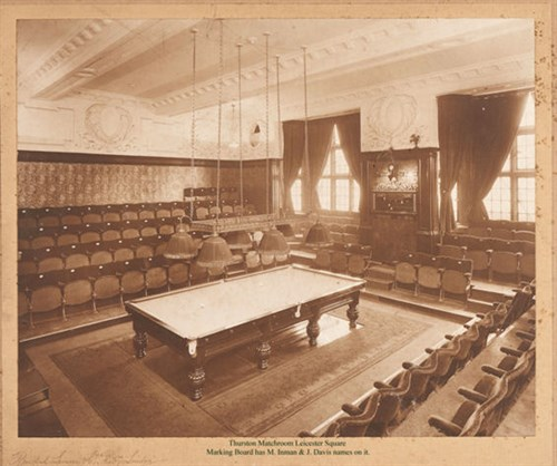 Thurston Match Room Leicester Square London