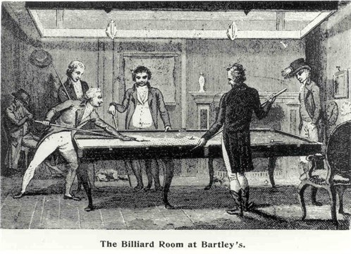 Bartley Billiard room