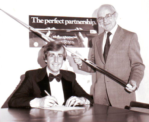 Terry Griffiths Professional Snooker player