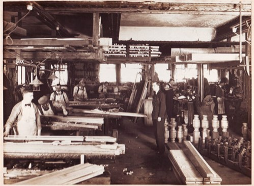 Ashcroft Billiard assembly shop