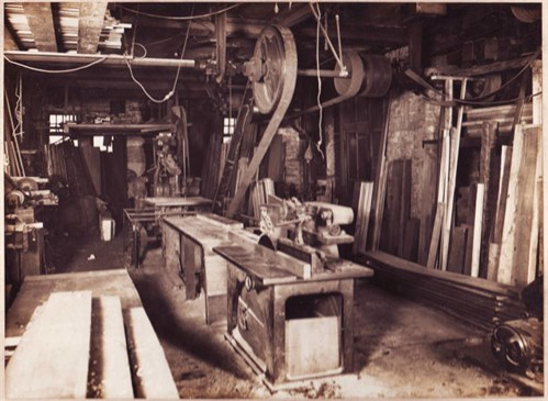 Wood working shop Ashcroft