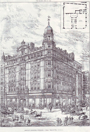Ashcroft Building, Victoria Street, Liverpool