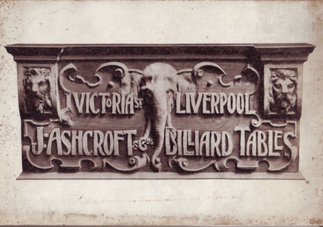 Ashcroft Billiard Catalogue 1905