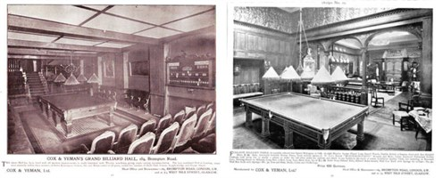 Cox & Yeman Billiard Hall