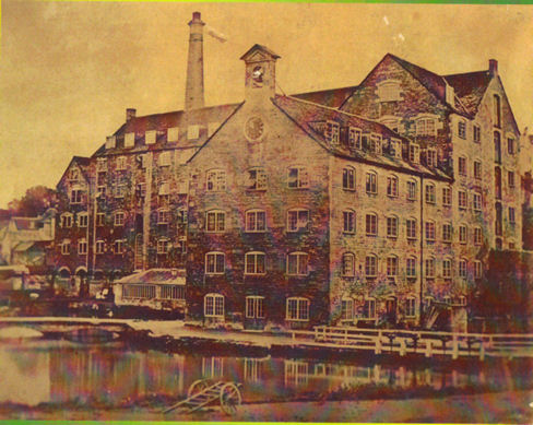 Lodgemore Mill Before Fire 1871