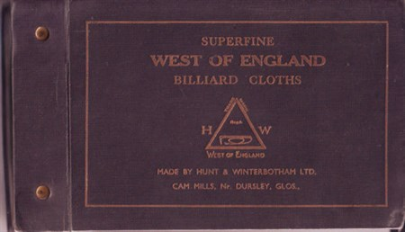 Hunt & Winterbotham Billaird Cloth