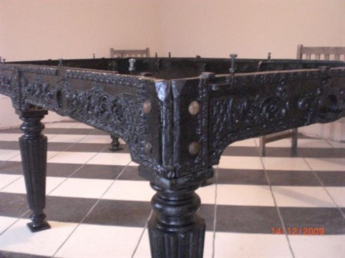 Cast Iron Billiard Table